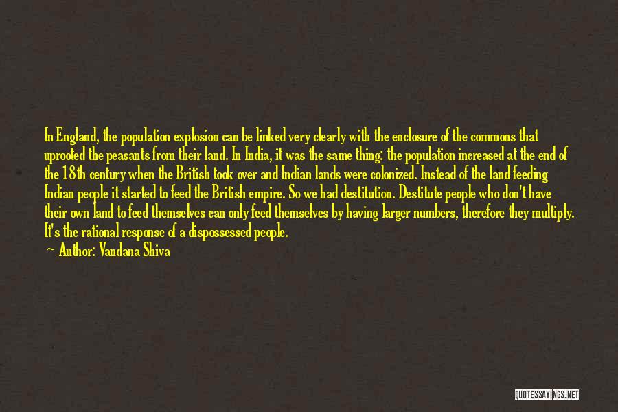 British Empire In India Quotes By Vandana Shiva