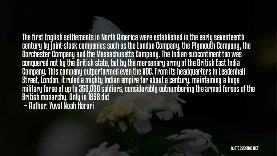 British Empire In India Quotes By Yuval Noah Harari