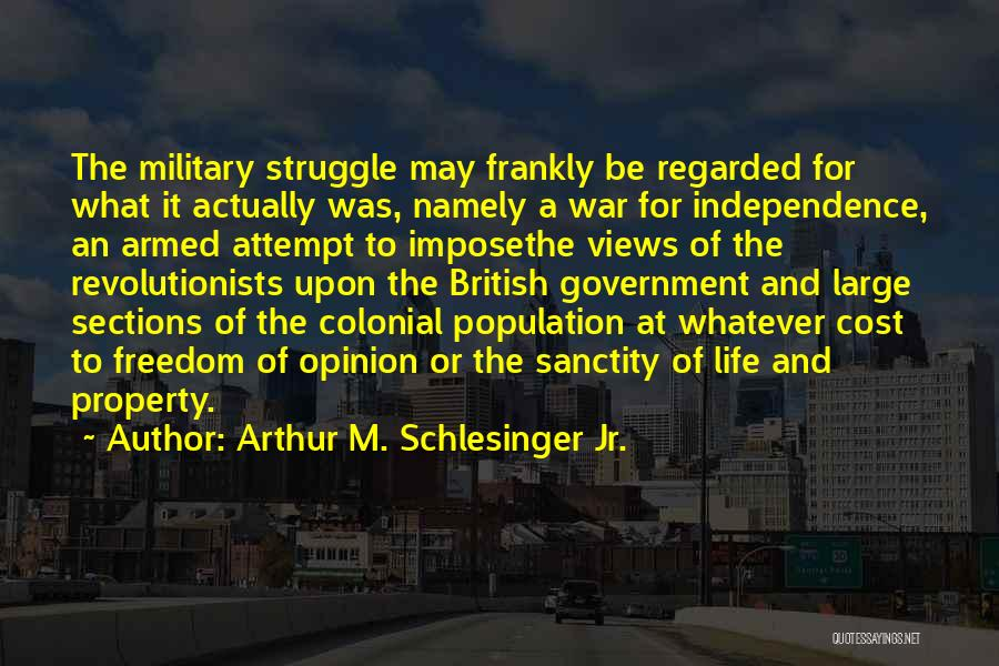 British Military Quotes By Arthur M. Schlesinger Jr.