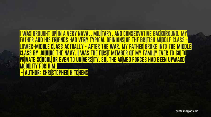 British Military Quotes By Christopher Hitchens