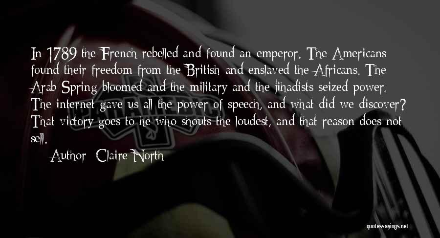 British Military Quotes By Claire North