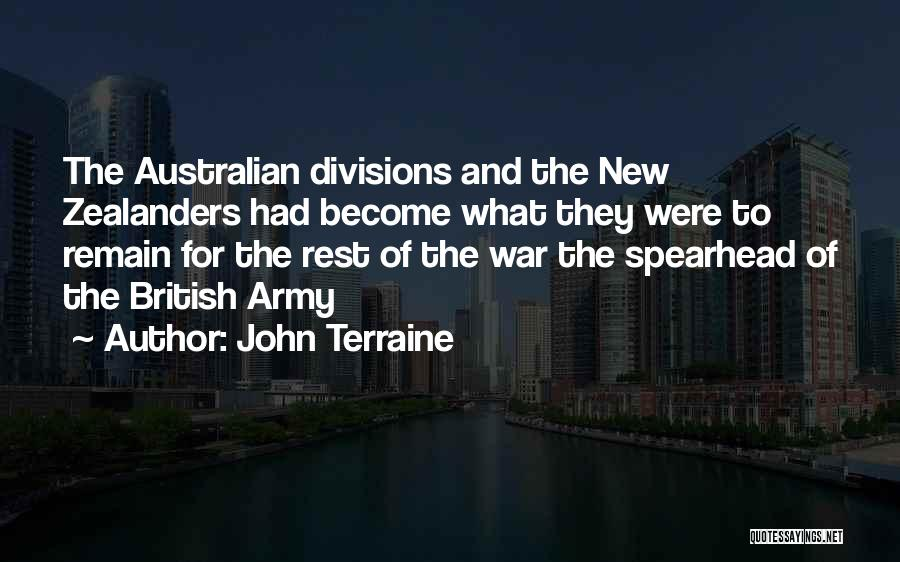 British Military Quotes By John Terraine