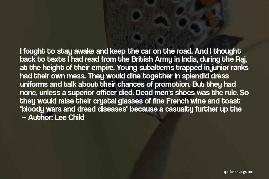 British Military Quotes By Lee Child