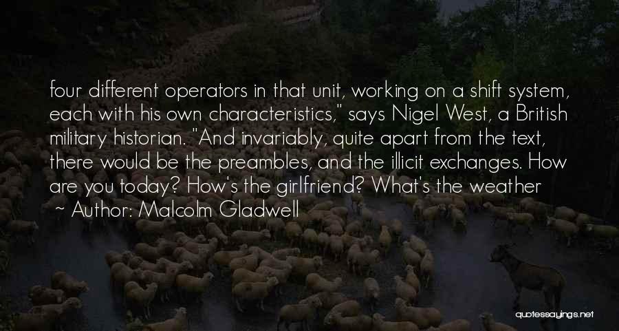British Military Quotes By Malcolm Gladwell