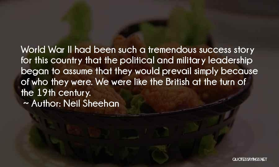 British Military Quotes By Neil Sheehan