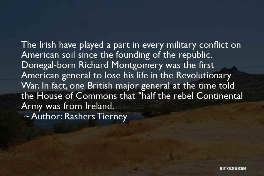 British Military Quotes By Rashers Tierney