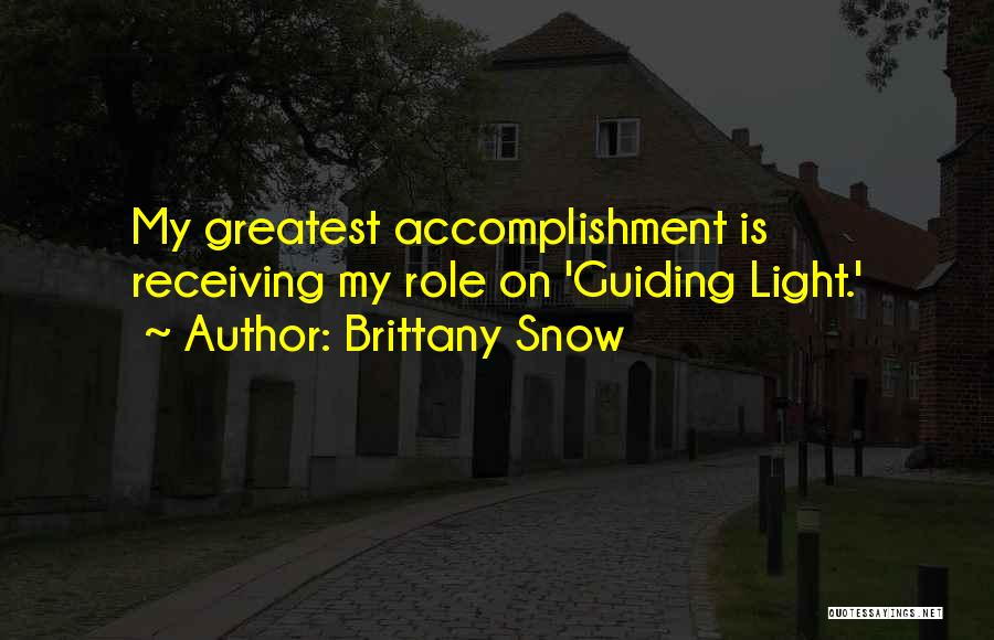 Brittany Snow Quotes 1289545