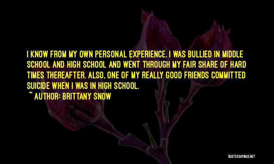 Brittany Snow Quotes 2139821