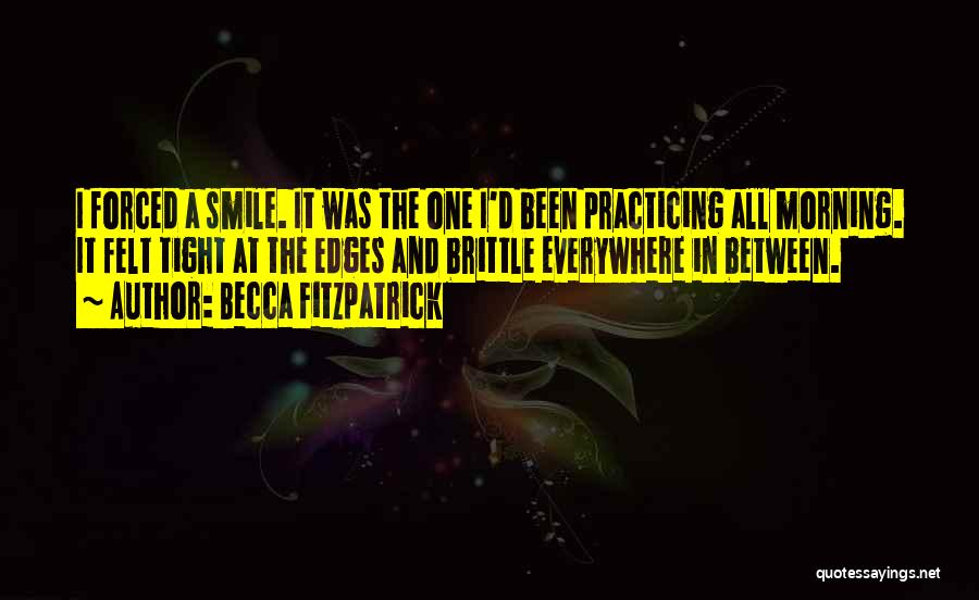 Brittle Quotes By Becca Fitzpatrick