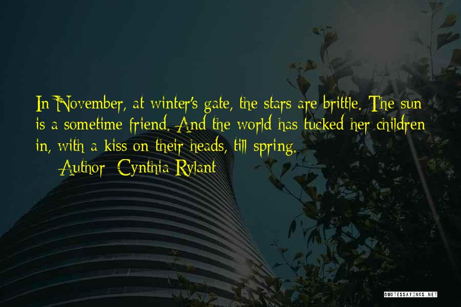 Brittle Quotes By Cynthia Rylant