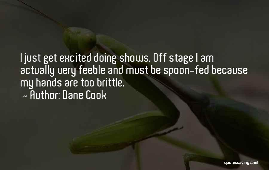 Brittle Quotes By Dane Cook
