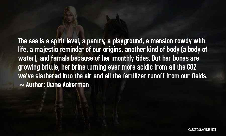 Brittle Quotes By Diane Ackerman