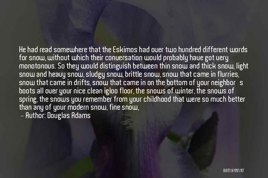 Brittle Quotes By Douglas Adams