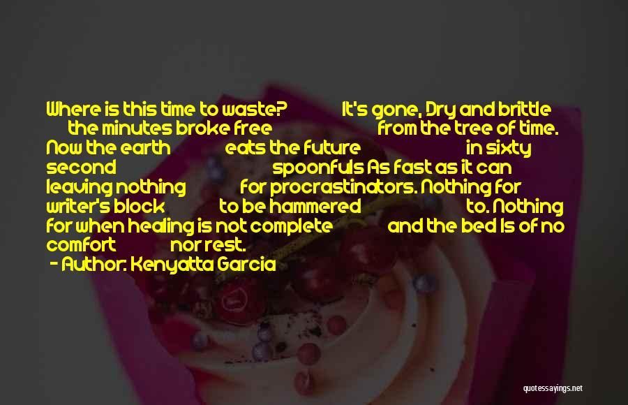 Brittle Quotes By Kenyatta Garcia