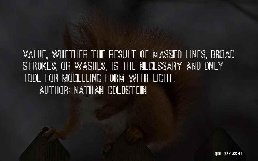 Broad Strokes Quotes By Nathan Goldstein