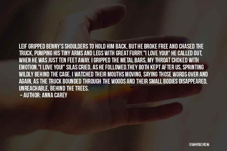 Broke Up But Still Love Each Other Quotes By Anna Carey