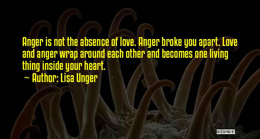 Broke Up But Still Love Each Other Quotes By Lisa Unger