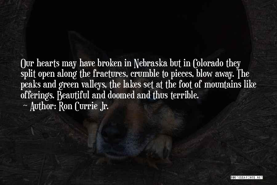 Broken But Beautiful Quotes By Ron Currie Jr.