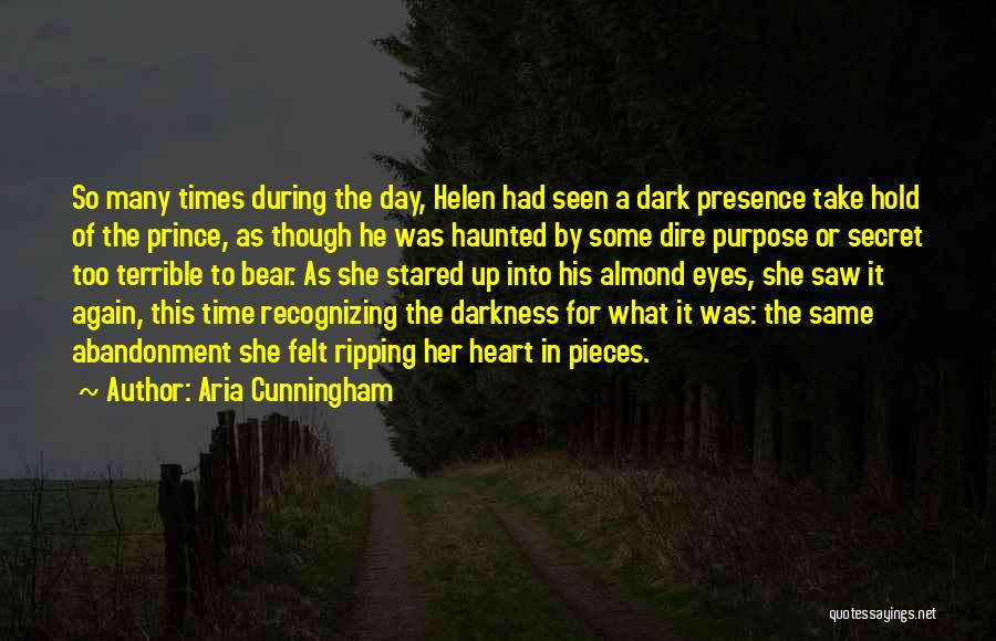 Broken Heart And Lost Love Quotes By Aria Cunningham
