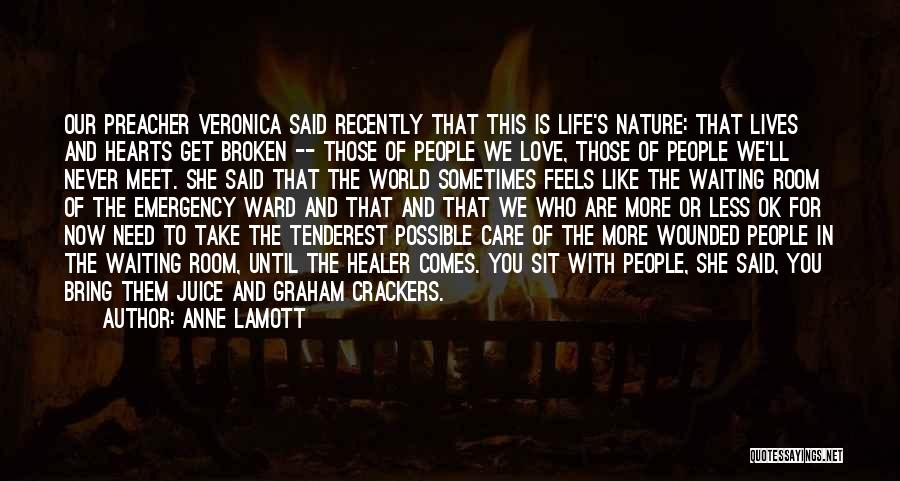 Broken Love Quotes By Anne Lamott