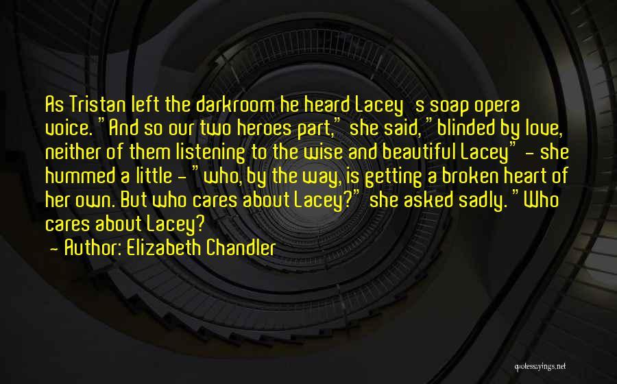 Broken Love Quotes By Elizabeth Chandler