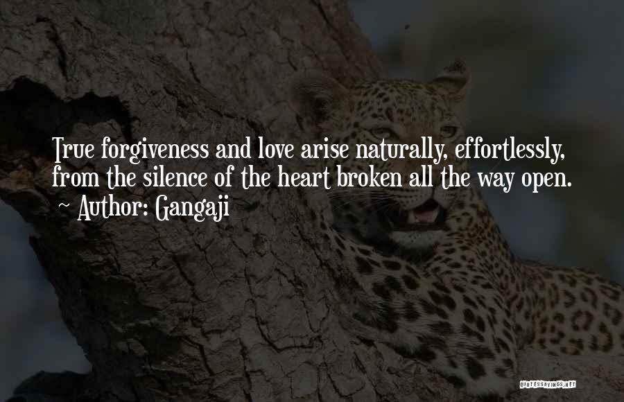 Broken Love Quotes By Gangaji