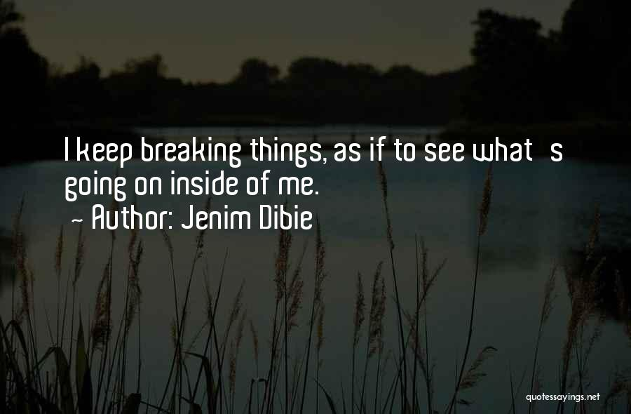 Broken Love Quotes By Jenim Dibie