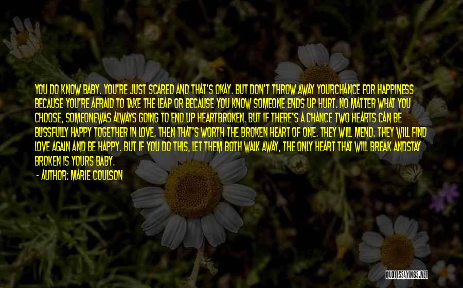 Broken Love Quotes By Marie Coulson