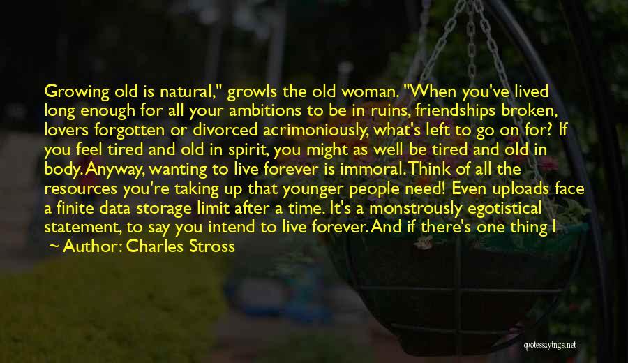 Broken Spirit Quotes By Charles Stross