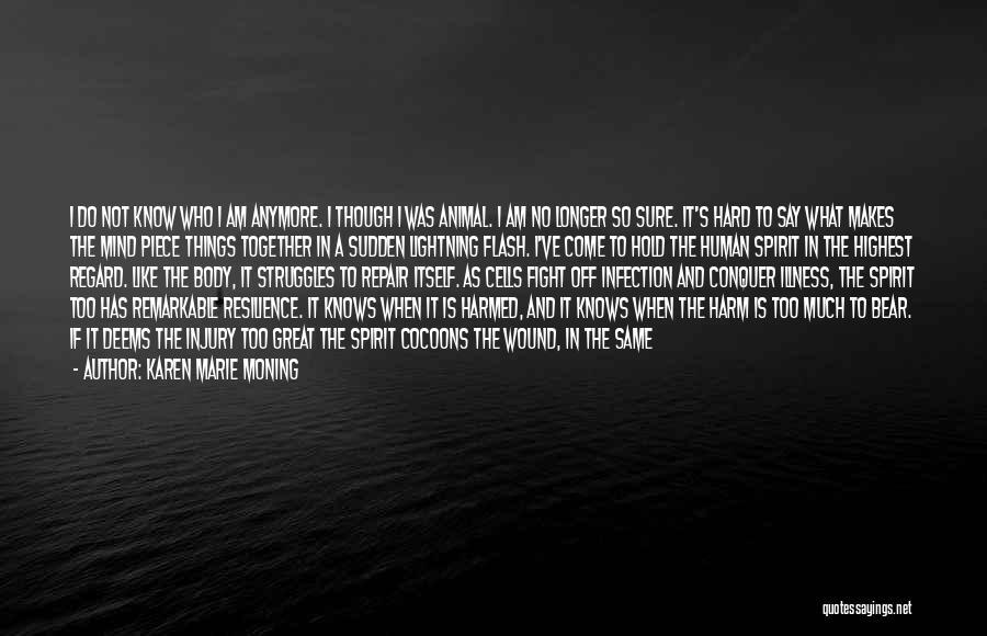 Broken Spirit Quotes By Karen Marie Moning