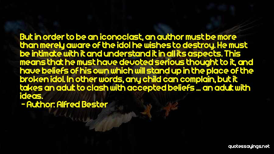 Broken Up With Quotes By Alfred Bester