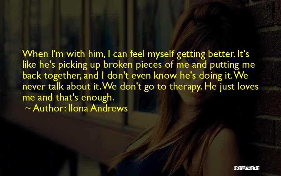 Broken Up With Quotes By Ilona Andrews
