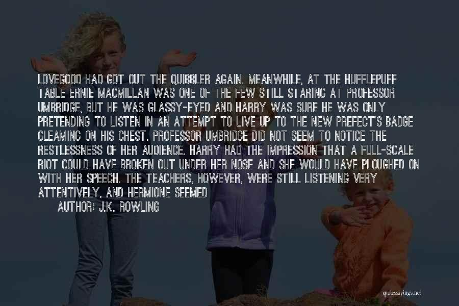 Broken Up With Quotes By J.K. Rowling