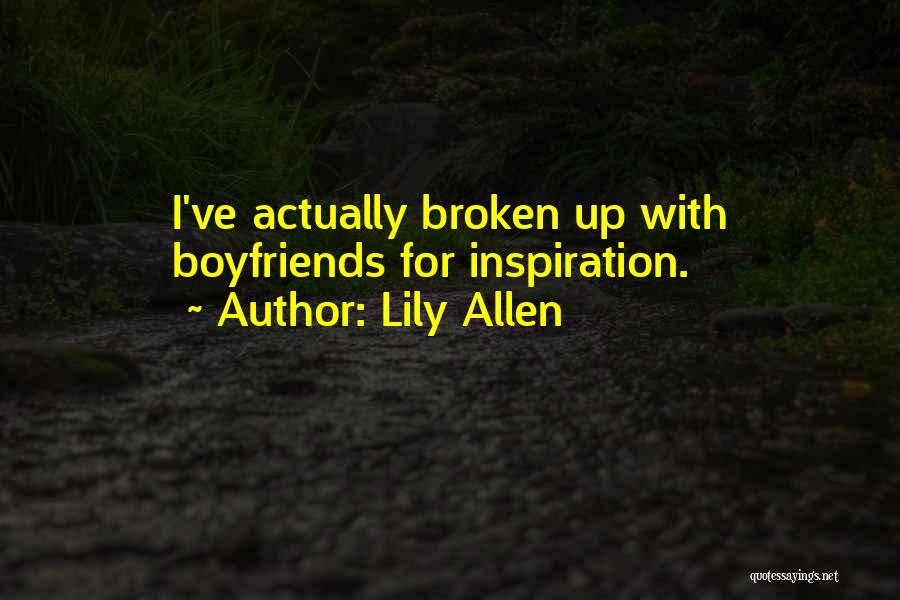 Broken Up With Quotes By Lily Allen