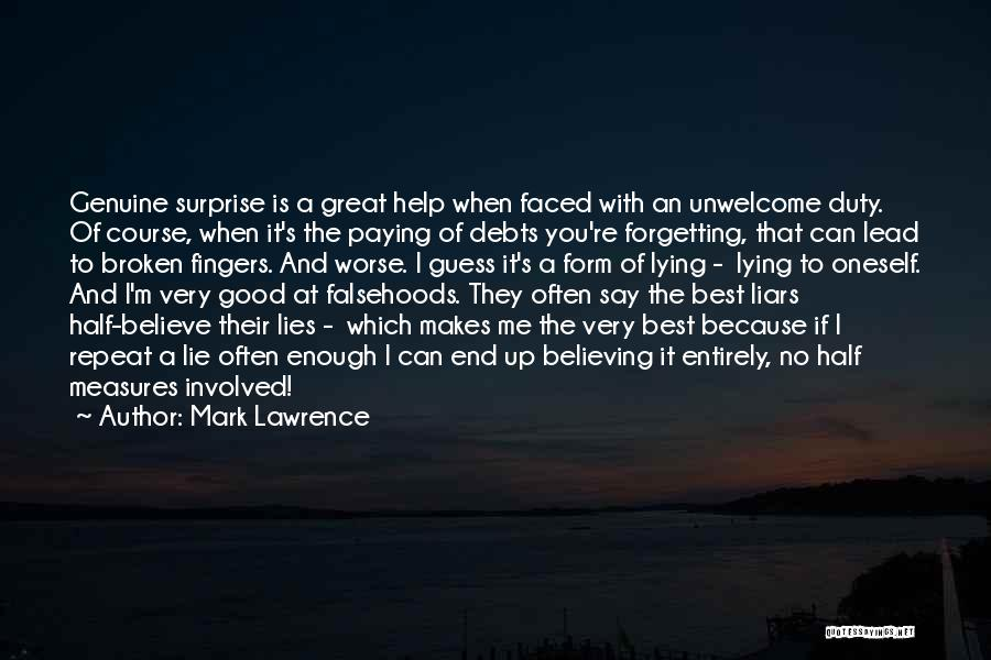 Broken Up With Quotes By Mark Lawrence