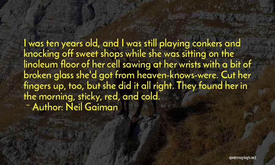 Broken Up With Quotes By Neil Gaiman
