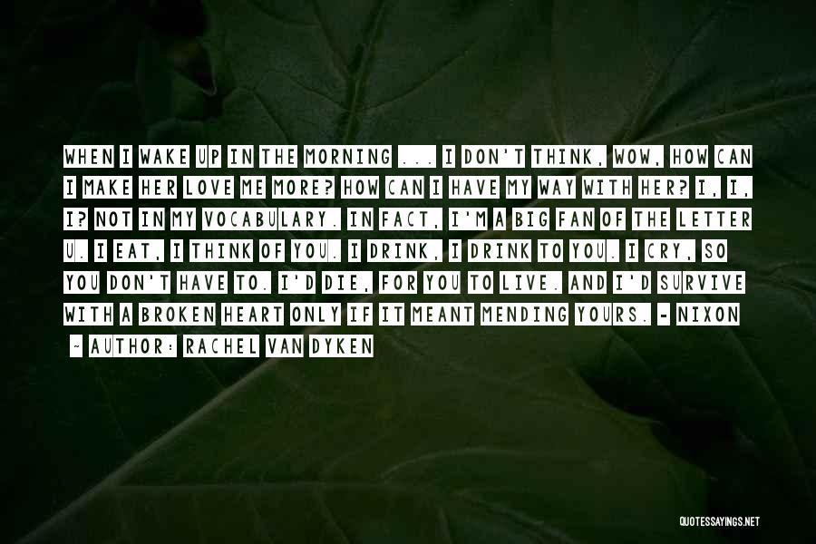 Broken Up With Quotes By Rachel Van Dyken