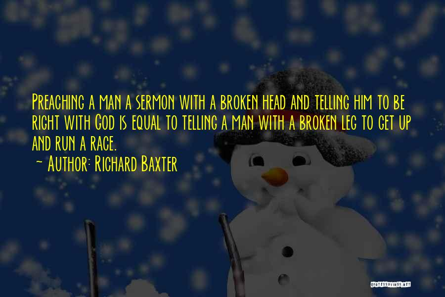 Broken Up With Quotes By Richard Baxter