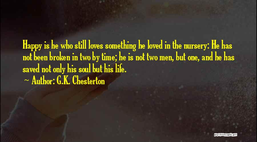 Brokenness Quotes By G.K. Chesterton