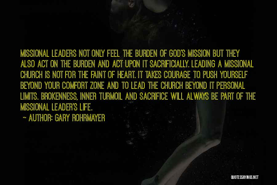 Brokenness Quotes By Gary Rohrmayer