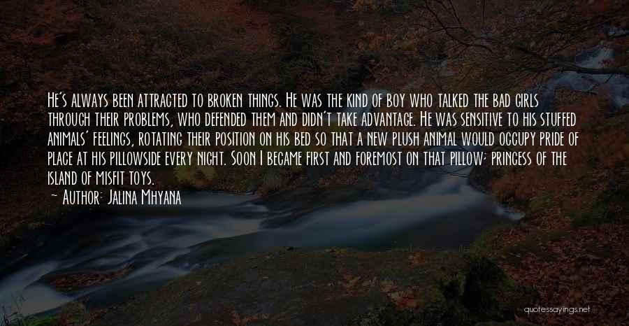 Brokenness Quotes By Jalina Mhyana