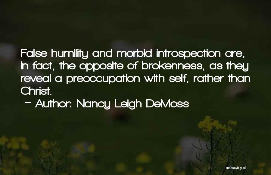 Brokenness Quotes By Nancy Leigh DeMoss