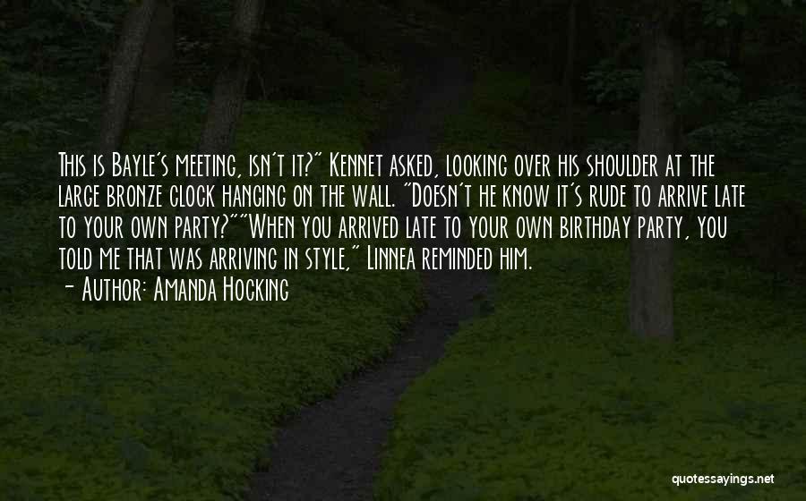 Bronze Quotes By Amanda Hocking