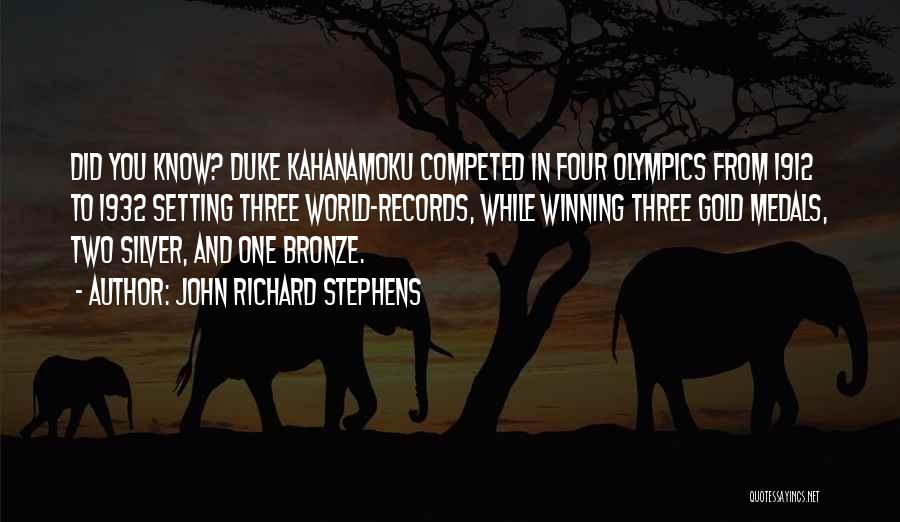 Bronze Quotes By John Richard Stephens
