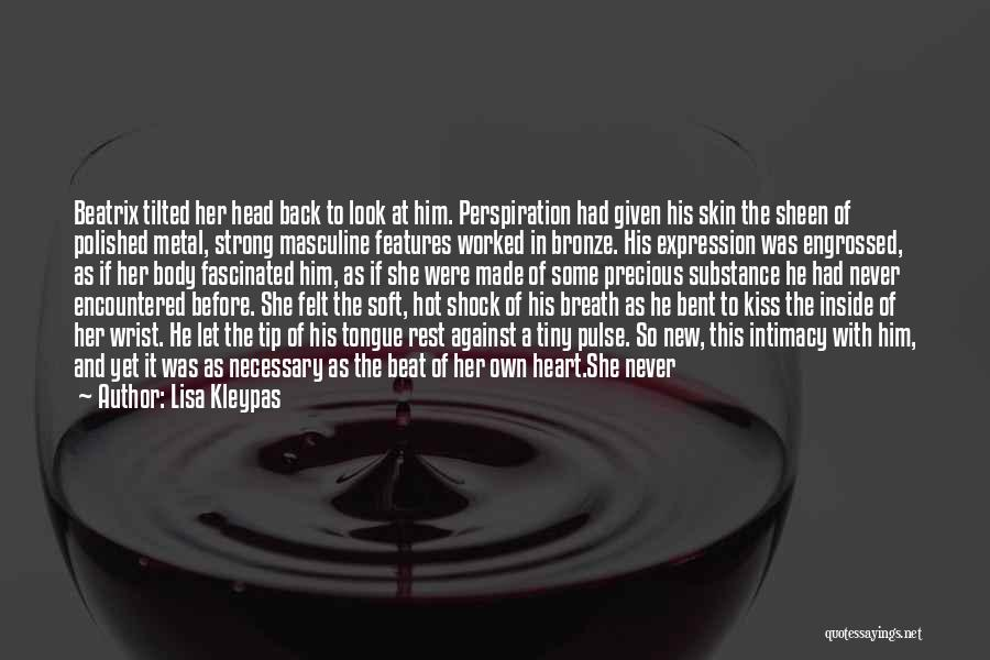 Bronze Quotes By Lisa Kleypas