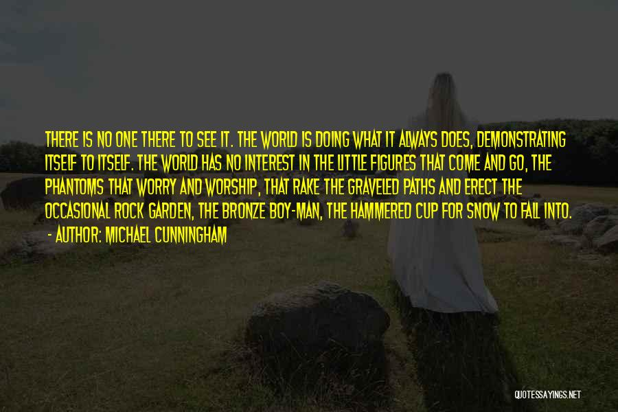 Bronze Quotes By Michael Cunningham