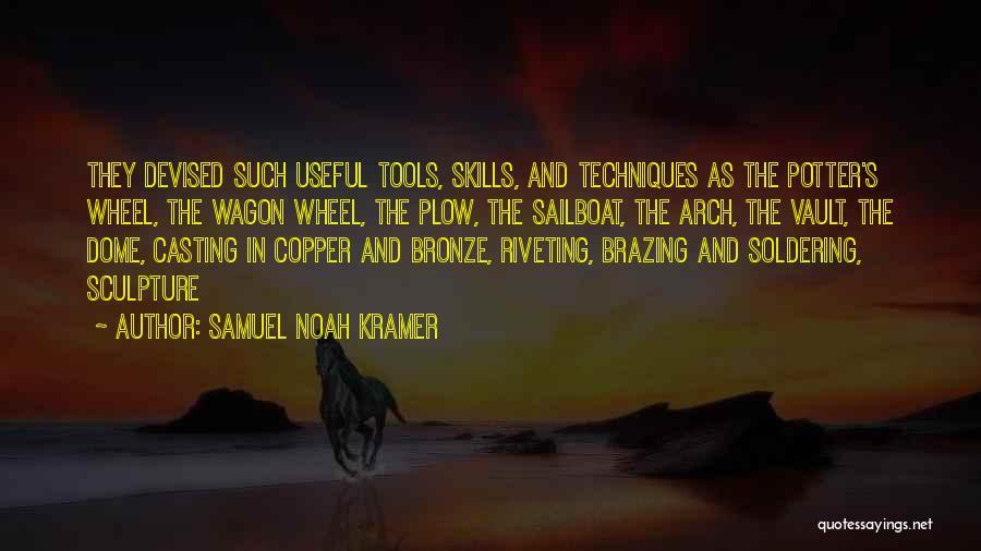 Bronze Quotes By Samuel Noah Kramer