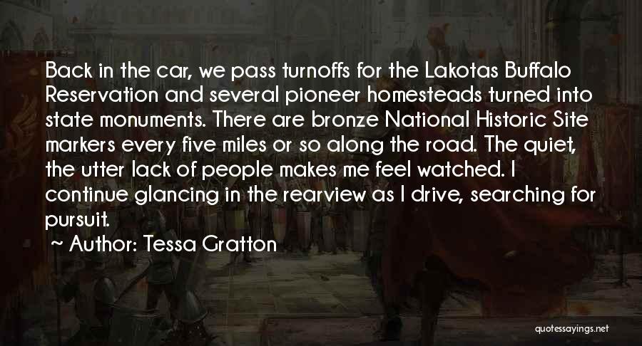 Bronze Quotes By Tessa Gratton