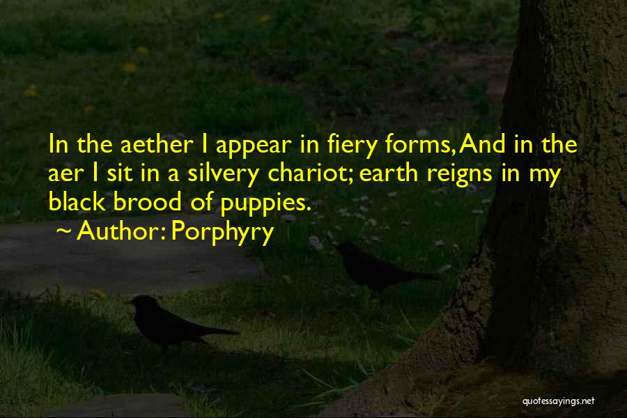 Brood Quotes By Porphyry