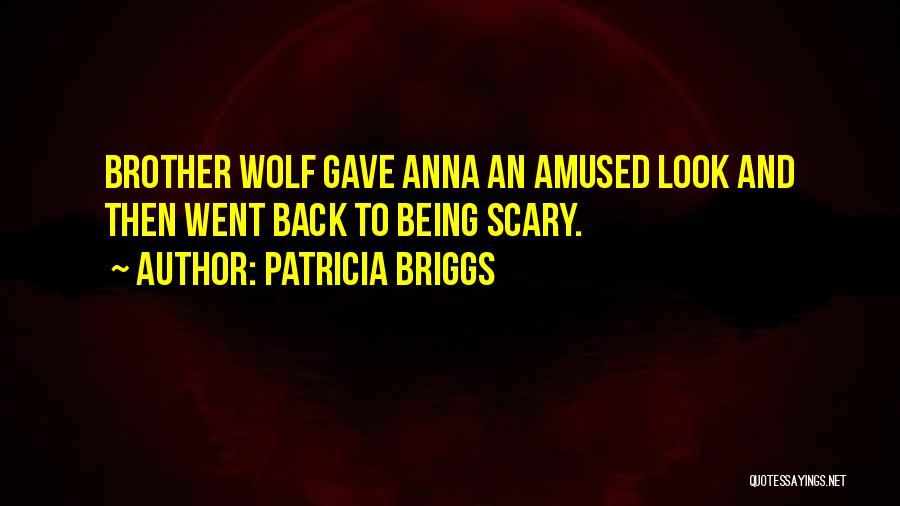 Brother Funny Quotes By Patricia Briggs